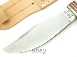 Vtg Marbles Gladstone Hubertus Solingen Stag Woodcraft Fixed Blade Hunting Knife