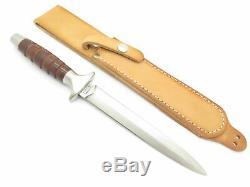 Vtg Valor Miami USA 373 Long Commando Fixed Dagger Boot Knife Seki Japan Nos