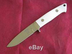 W C Davis Custom Handmade Loveless Style Drop Point Hunting Knife