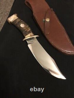 W. F. Moran Jr. Lime Kiln. Md. Custom Hand Forged M7 Knife-sheath-nice