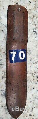 Webster Marbles Gladstone Ideal hunting knife 8 Vintage
