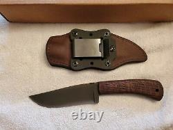 Winkler Knives II Highland Hunter #27 curly quartersawn oak used